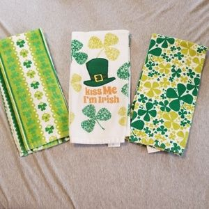 St. Patrick's Day hand towels bundle